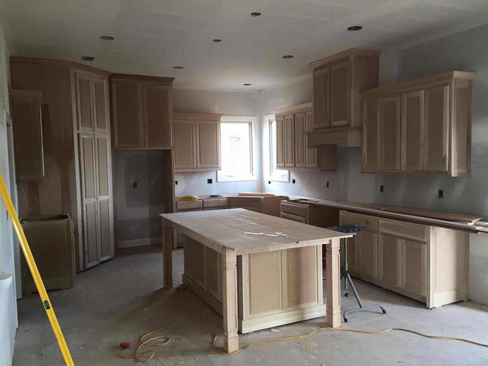 New Construction Cabinets Custom Cabinets By Lawrence