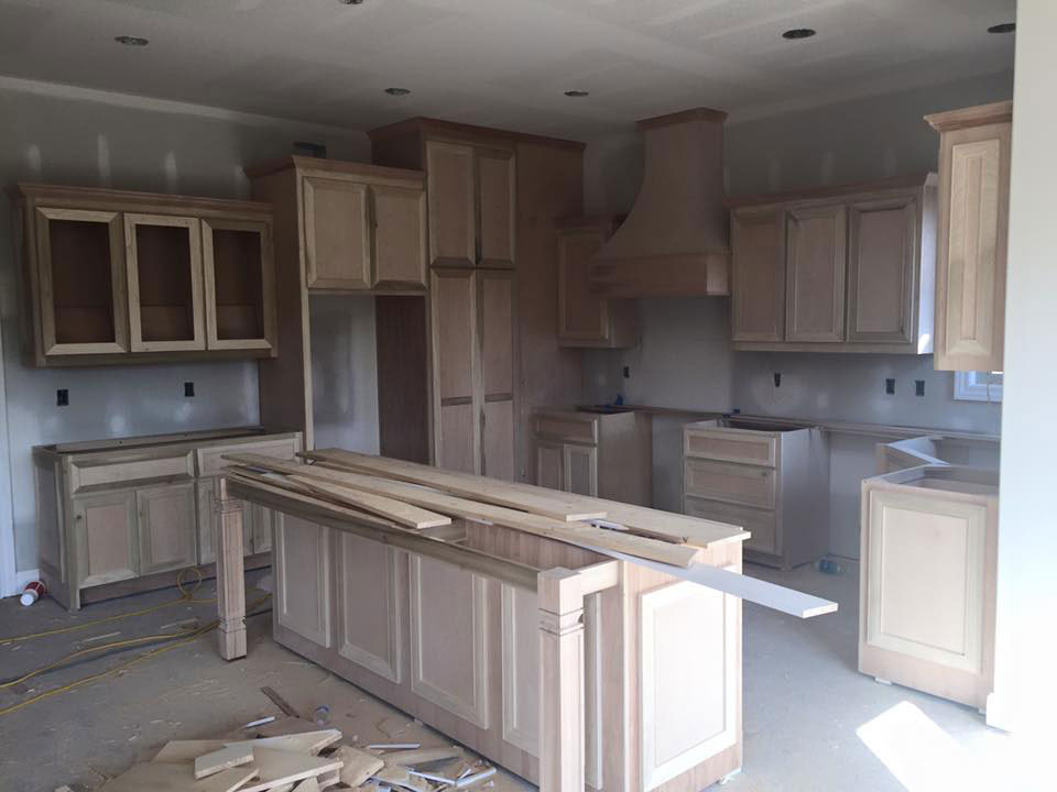 Get Ready For Kitchen Cabinet Installation
